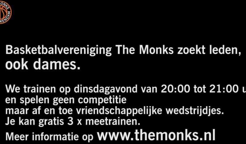 The Monks zoekt nieuwe leden