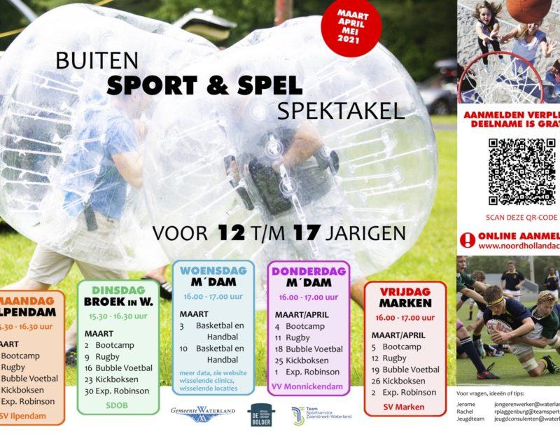 Buiten sport & spel spektakel